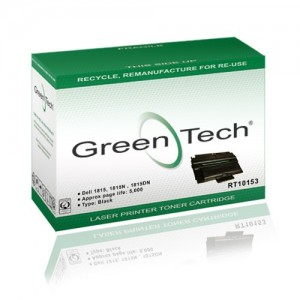 GreenTech RT10054 remanufactured Dell 593 10054 black laser toner cartridges