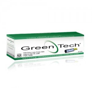 GreenTech RT10063 remanufactured Dell 593 10063 yellow laser toner cartridges