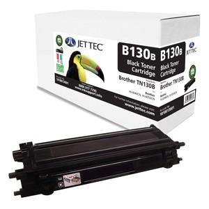 Jet Tec B130B remanufactured Brother TN 130B laser toner cartridges