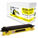 Jet Tec B130Y remanufactured Brother TN 130Y laser toner cartridges