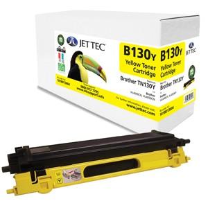 Jet Tec B130Y remanufactured Brother TN 130Y laser toner cartridges