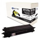Jet Tec B135B remanufactured Brother TN 135B laser toner cartridges