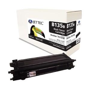 Jet Tec B135B remanufactured Brother TN 135B laser toner cartridges
