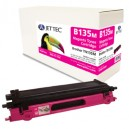 Jet Tec B135M remanufactured Brother TN 135M laser toner cartridges