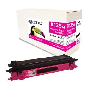 Jet Tec B135M remanufactured Brother TN 135M laser toner cartridges