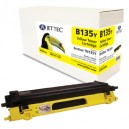 Jet Tec B135Y remanufactured Brother TN 135Y laser toner cartridges