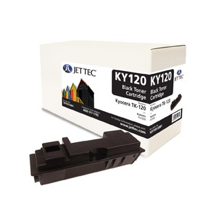 Jet Tec KY120 remanufactured Kyocera TK 120 laser toner printer cartridges