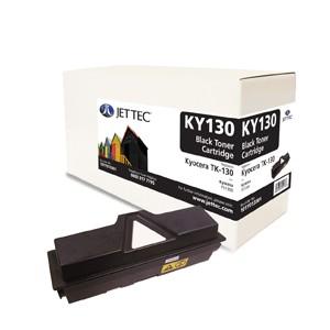 Jet Tec KY130 remanufactured Kyocera TK 130 laser toner printer cartridges