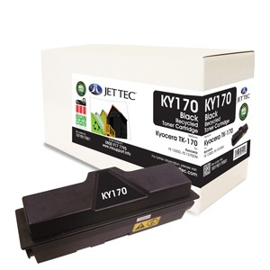 Jet Tec KY170 remanufactured Kyocera TK 170 laser toner printer cartridges