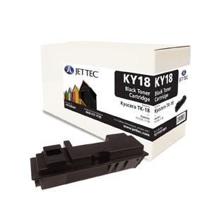 Jet Tec KY18 remanufactured Kyocera TK 18 laser toner printer cartridges