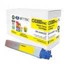 Jet Tec O3300YHC remanufactured OKI 43459329 laser toner printer cartridges