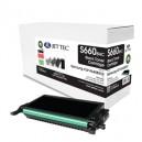 Jet Tec S660BHC remanufactured Samsung CLP K660BELS laser toner cartridges
