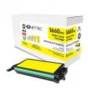 Jet Tec S660YHC remanufactured Samsung CLP Y660BELS laser toner cartridges