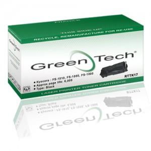 GreenTech RTTK17 remanufactured Kyocera TK 17 laser toner printer cartridges