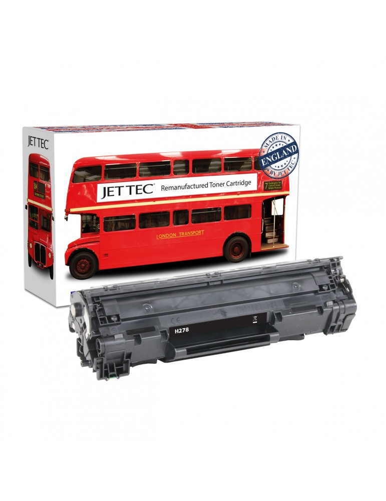 Jet Tec C728 Remanufactured Canon CRG728 black toner cartridges